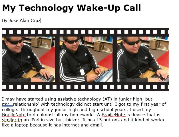 image of My Technology Wake-Up Call Article